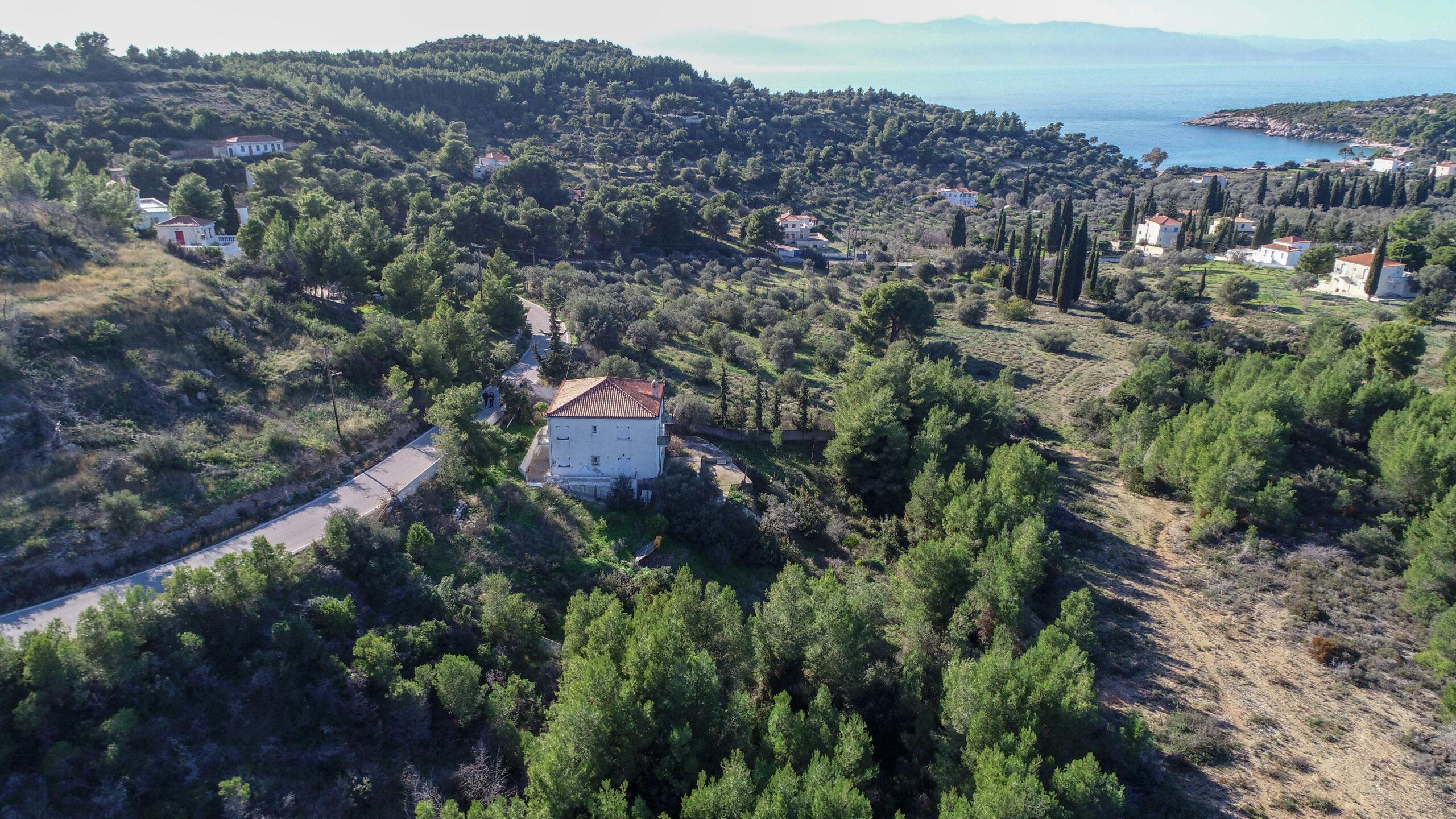 Seaview house of 200 sq. meters