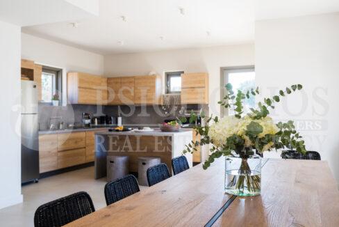 Main Level - Kitchen + Dinner Table
